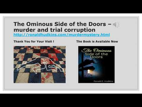 The Ominous Side of the Doors - Fiction, Crime, Mystery