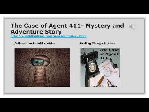 The Case of Agent 411 - An Espionage Thriller