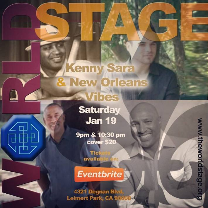 KENNY SARA & New Orleans Vibes @ The 'new' World STAGE