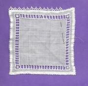Cover Prep - Linen on Linen