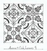 Acorns & Oak Leaves 4