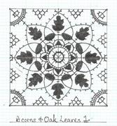Acorns & Oak Leaves 1