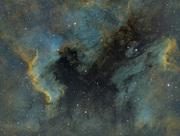 NGC 7000 Nordamerika SHO