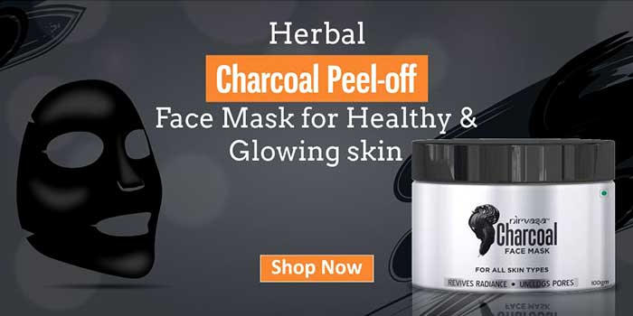 To Get Rid Of Acne Scars Use Charcoal Peel-Off Face Mask