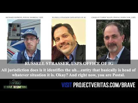 RAW AUDIO: USPS Whistleblower Richard Hopkins FULL COERCIVE INTERROGATION By Federal Agents