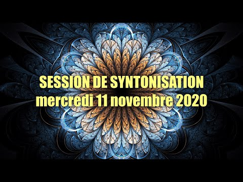 01-SYNTONISATION du Mercredi 11 novembre 2020