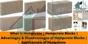 Hempcrete Building Material