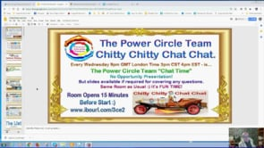 Power Circle Team Chitty Chitty Chat Chat Million Dollar Instant Business Update Webinar Replay 16th Jan 2019
