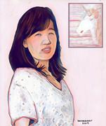 Danni Wang Motherhood