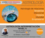 CURSO DE ASTROLOGIA AVANZADA -ZOOM