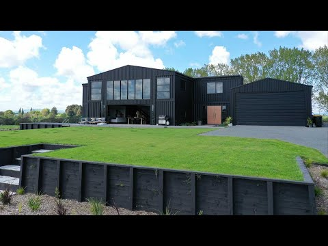 Incredible 6 Bedroom Shipping Container Home in New Zealand