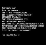 lyrics to say hello to heaven chris  cornell RIP