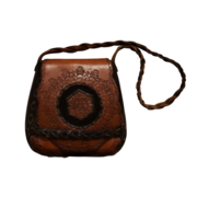 Vintage Tooled Leather Handbags