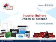 Best Inverter Battery Dealers in Ballabgarh, Faridabad - Garg Trading Company