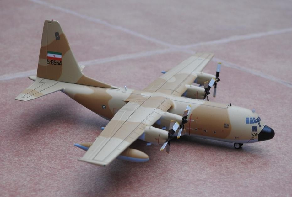 JFox 1:200 Iran Air Force C-130E