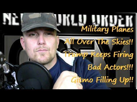 Military Planes Going To Gitmo!! Bad Actors Interrogated!! Kraken Has Been Released!!