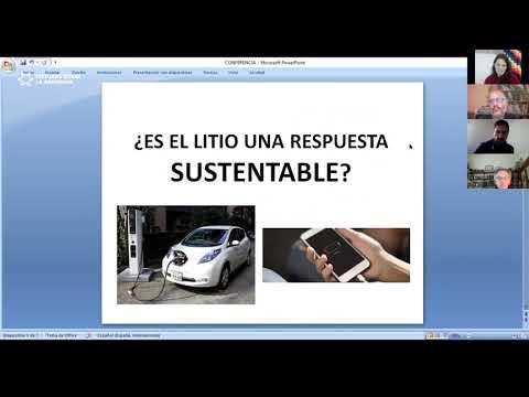 Transición energética: minería y energía. Natalia Sentinelli.
