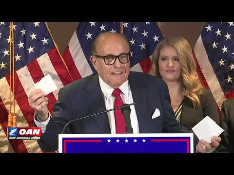 Rudy Giuliani and Trump Campaign's Legal Team Hold Press Conference 11/19/20