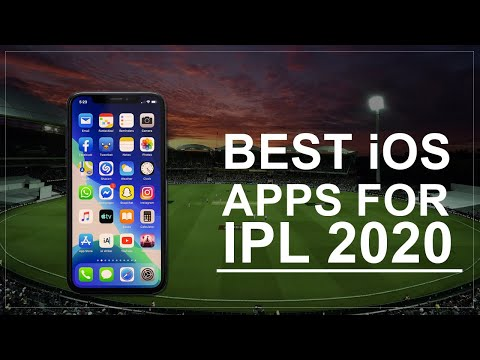 Best iOS Apps For Watching IPL 2020 | Top iOS Apps Free For IPL