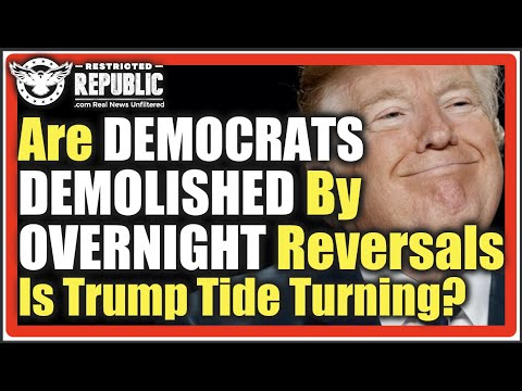 Did DEMOCRATS Get DEMOLISHED Overnight!? 2 STUNNING STATE REVERSALS Indicate Trump Tide Is Turning!
