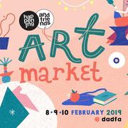 """งาน """"happening and friends: Art Market"""""""