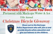 The streets don't love you back 12 Annual Christmas Giveaway