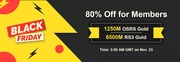 RSorder Black Friday 80% Off Sale for Members
