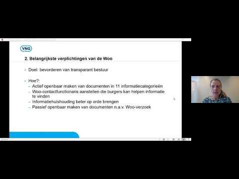 Webinar Actieve openbaarmaking - Grip op Informatie
