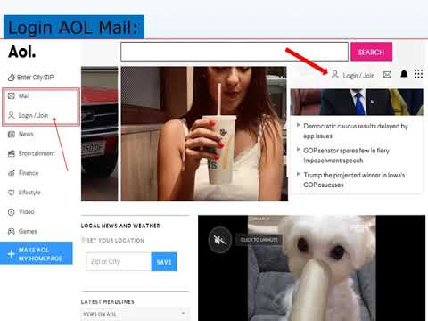 How to Login AOL Mail New Account - AOL Mail Login - aol.com