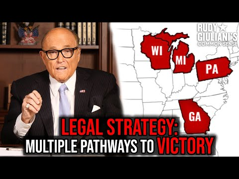 LEGAL STRATEGY: Multiple Pathways To Victory | Rudy Giuliani | Ep. 88