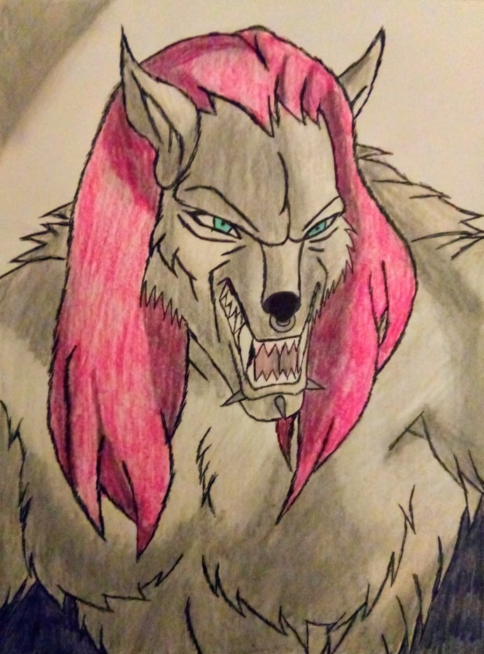 Werewolf Swordsha Black Knives
