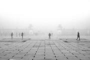 nebbia in città_la Piazza