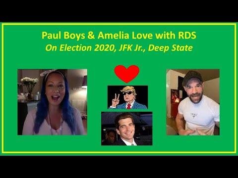 Robert David Steele Amelia Love Paul Boys JFK Jr  Donald Trump Election 2020 Deep State