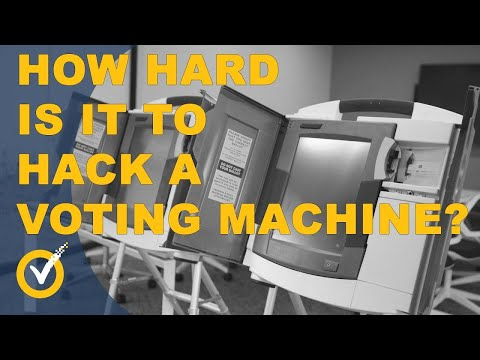 How to Hack a Voting Machine! I Hacked It