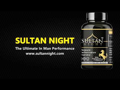 Ultimate Tablet for Sexual Performance | Sultan Night Sex Tablet For Men | Erectile dysfunction.