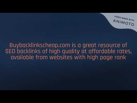 Buybacklinkscheap Com Is Great