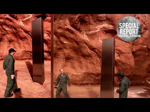 """UTAH Police Can't Explain What Was Found In The Desert! """"The Monolith"""" 2020"""