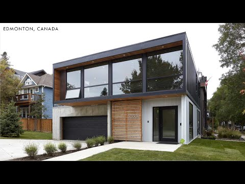 Riverdale HO4+ Container Home by Honomobo in Edmonton, Canada