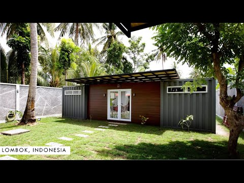 Villa Kotak: Shipping Container Home in Lombok, Indonesia