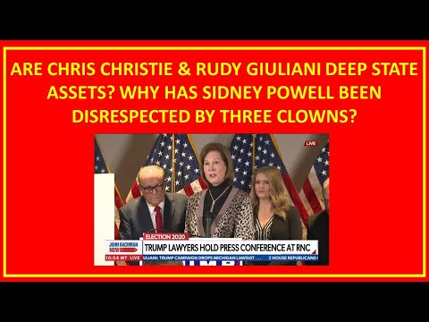 Sidney Powell Disrespected by Giulini Ellis Chistie a Traitor President Disgraced by Subordinates