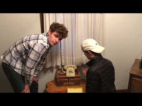 17 Year Olds Try To Use A Rotary Phone