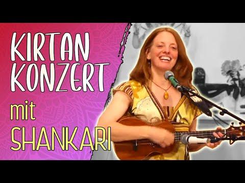 Kirtan Konzert mit Shankari  - Yoga Vidya Live 18:45 Uhr 07.11.2020