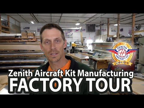 Zenith Aircraft Company: Inside the kit airplane factory