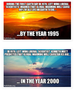 Stupid predictions!
