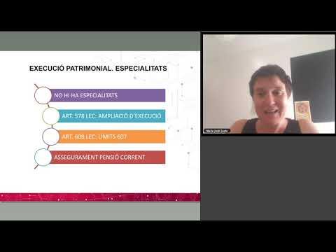AJ   Aspectes pràctics de la tramitació dels procediments de família sessió 3