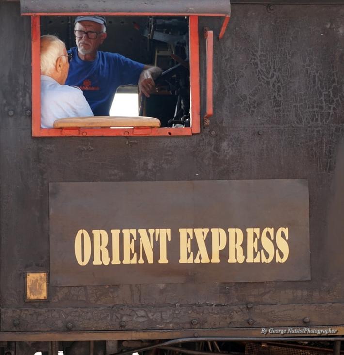 Ο μηχανοδηγός του Orient Express