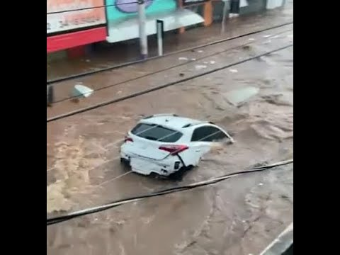 Devastating Flash Floods Hits Municipality of São Carlos, Brazil