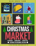Blue House Yard Christmas Market