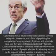 Ron Paul on the Descent into total yyranny