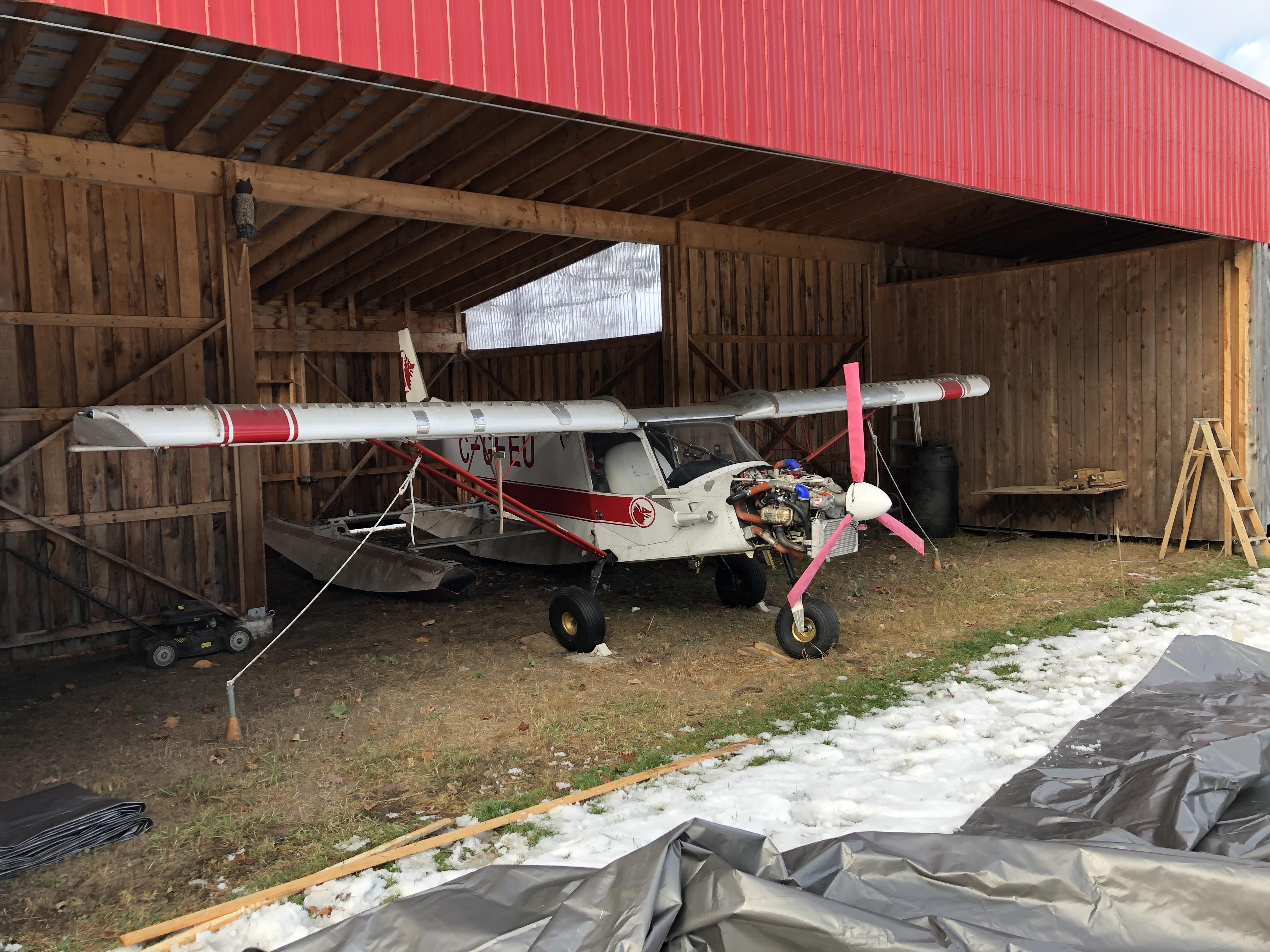 Ch701 hangar getting new Tempo doors